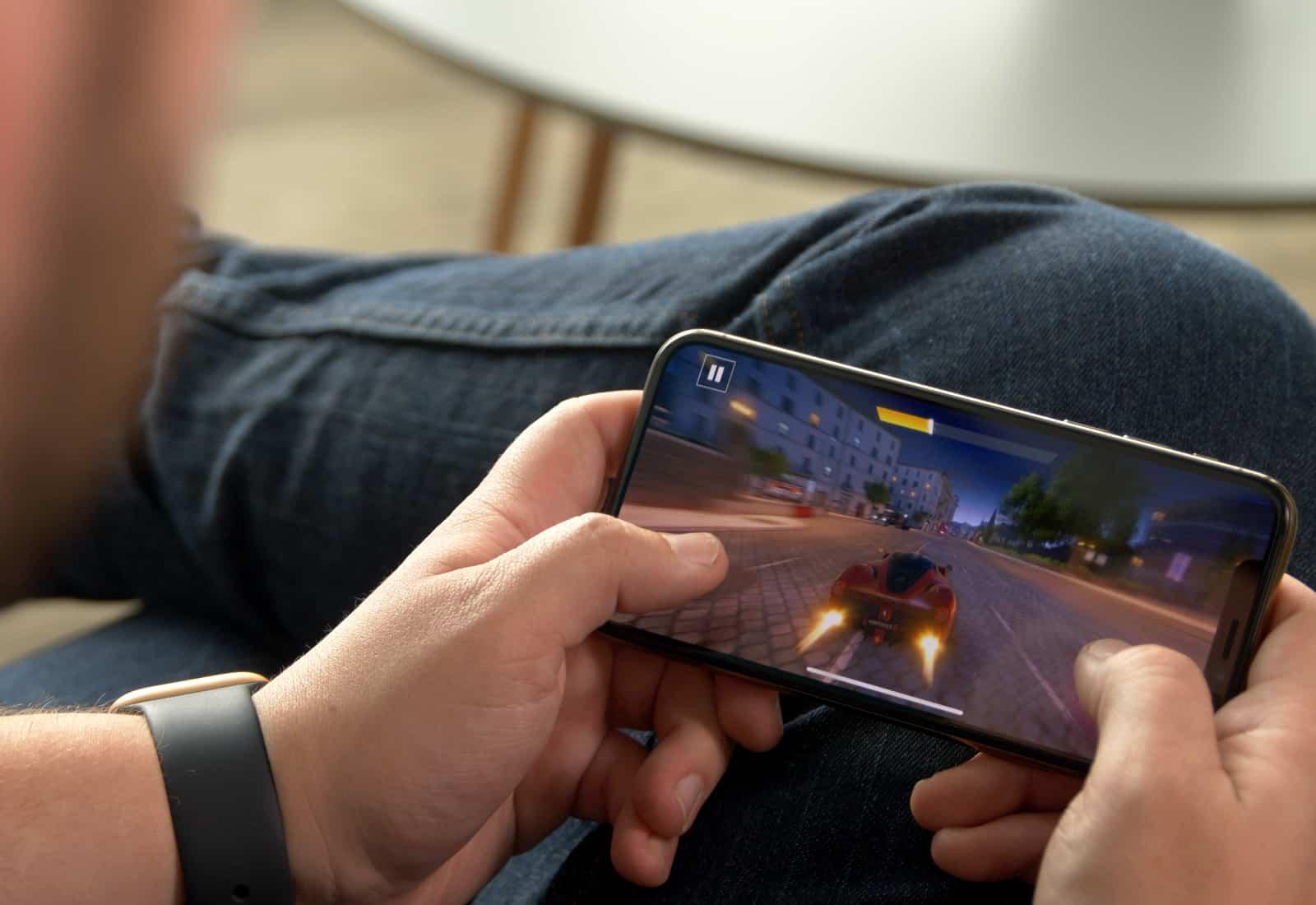 jeu sur iOS